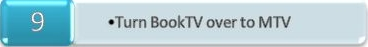 Turn BookTV over to MTV